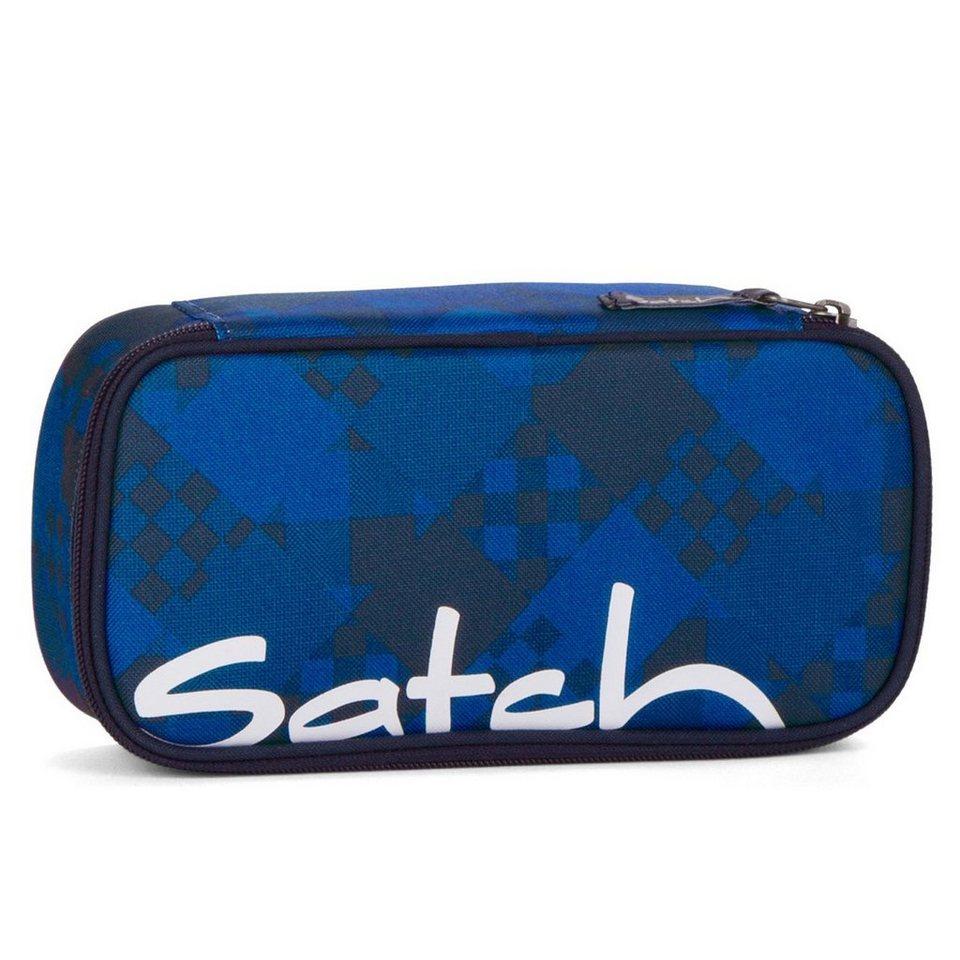 Satch 15 SchlamperBOX Schlampermäppchen 25 cm in blue bits