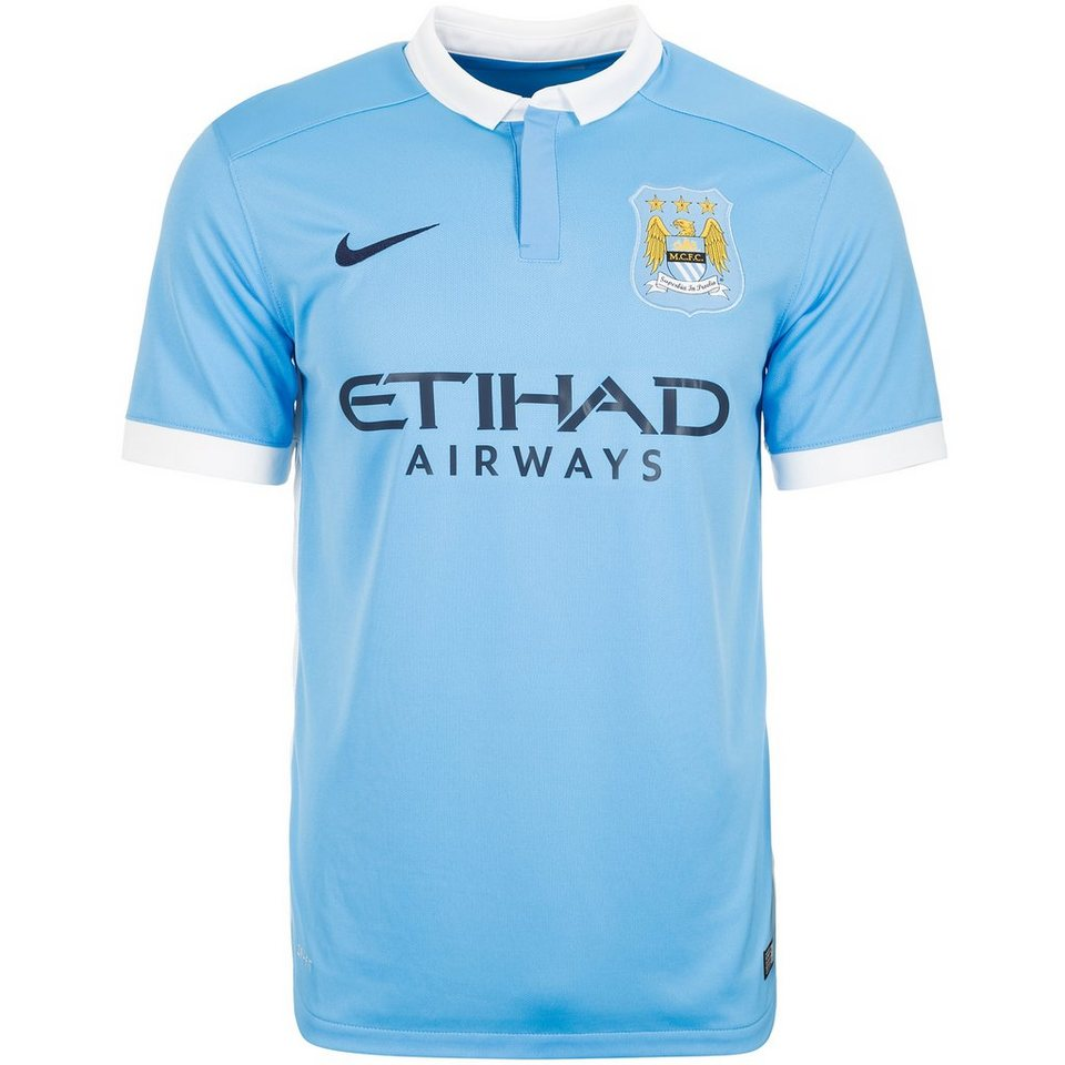 nike manchester city fc trikot home stadium 2015 2016 herren online kaufen otto. Black Bedroom Furniture Sets. Home Design Ideas