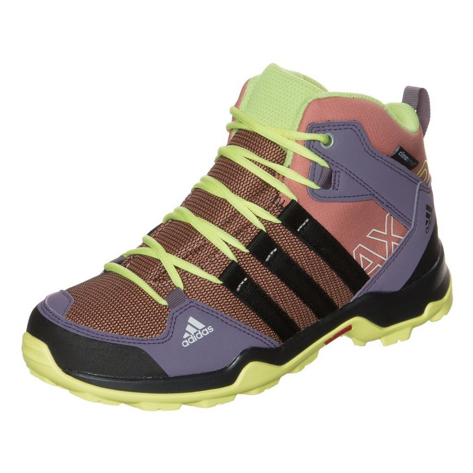 adidas Performance AX2 Mid ClimaProof Outdoorschuh Kinder in pink / schwarz