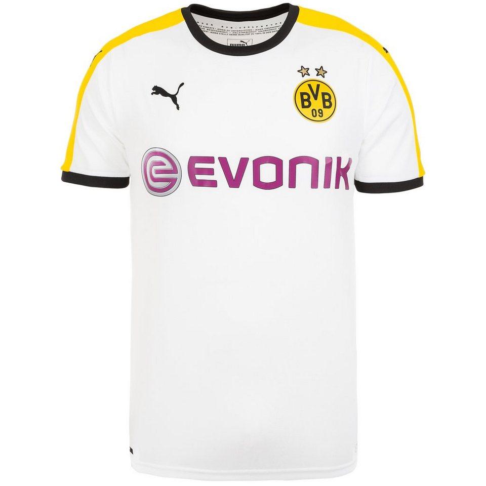PUMA Borussia Dortmund Trikot 3rd 2015/2017 Herren in weiß / schwarz