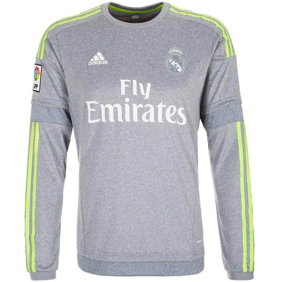 adidas Performance Real Madrid Trikot Away 2015/2016 Herren in grau / gelb