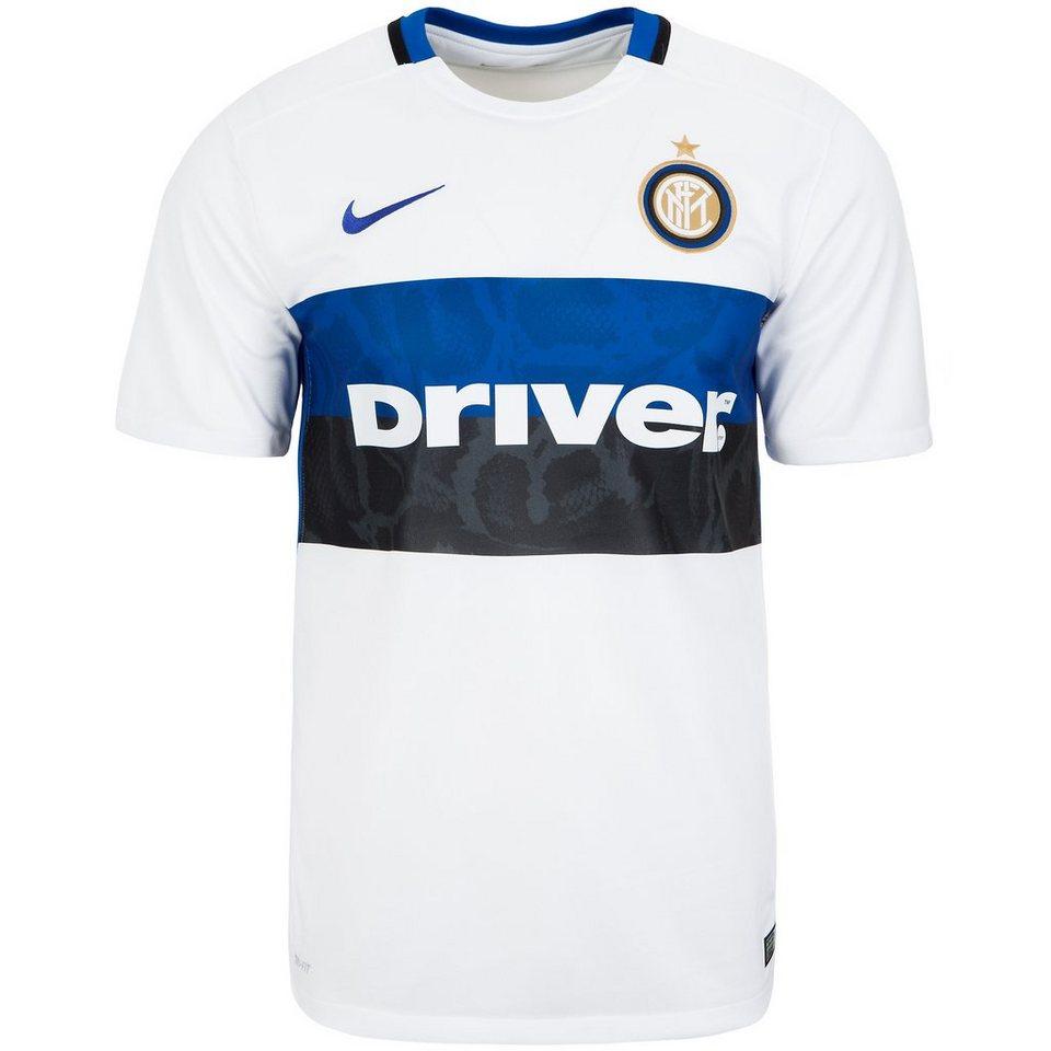 NIKE Inter Mailand Trikot Away Stadium 2015/2016 Herren in weiß / blau / schwar