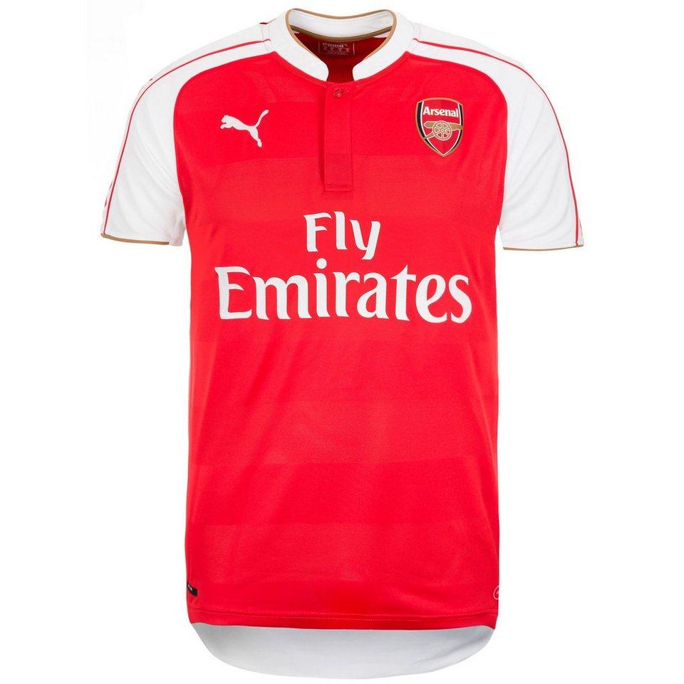 PUMA Arsenal London Trikot Home 2015/2016 Herren in rot / weiß / gold