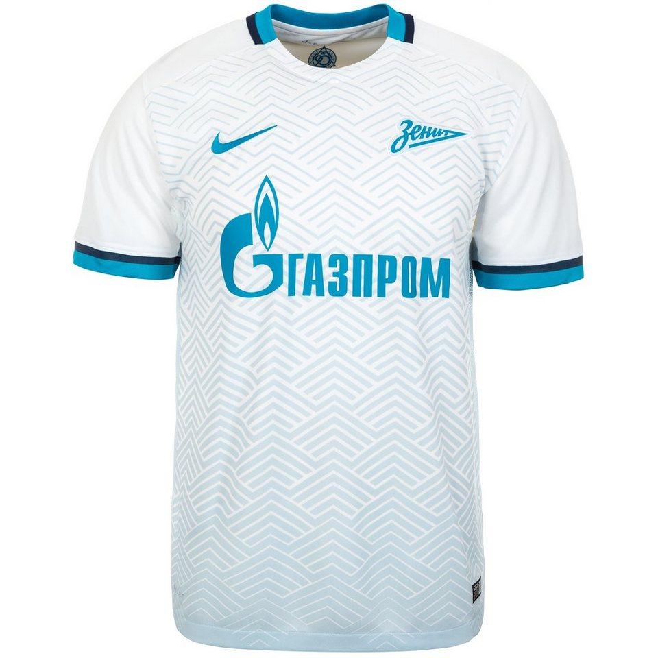 NIKE Zenit St.Petersburg Trikot Away 2015/2016 Herren in weiß / hellblau