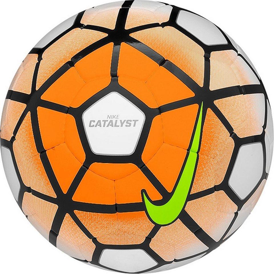NIKE Catalyst Fußball in orange / weiß
