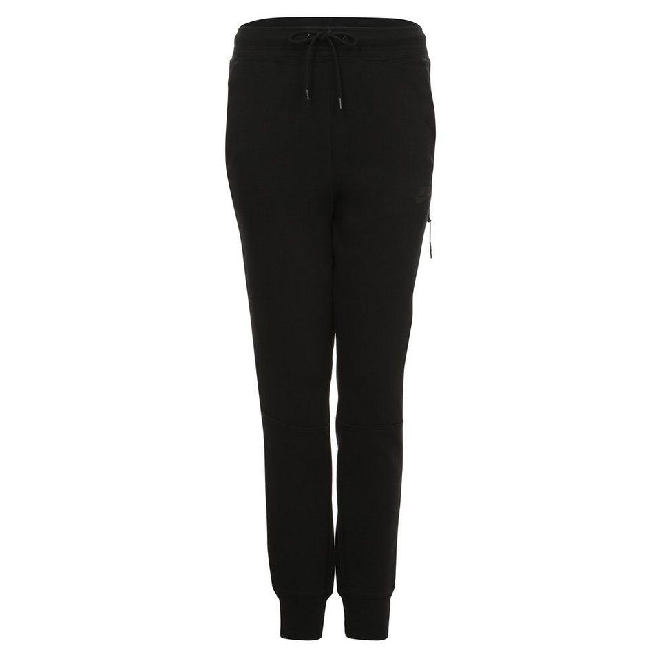 Nike Sportswear Tech Fleece Trainingshose Damen in schwarz