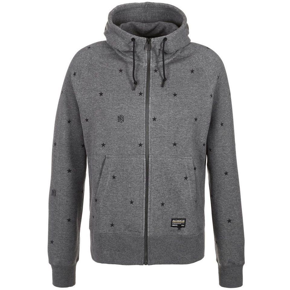 Nike Sportswear F.C. AW77 Kapuzenjacke Herren in dunkelgrau / schwarz