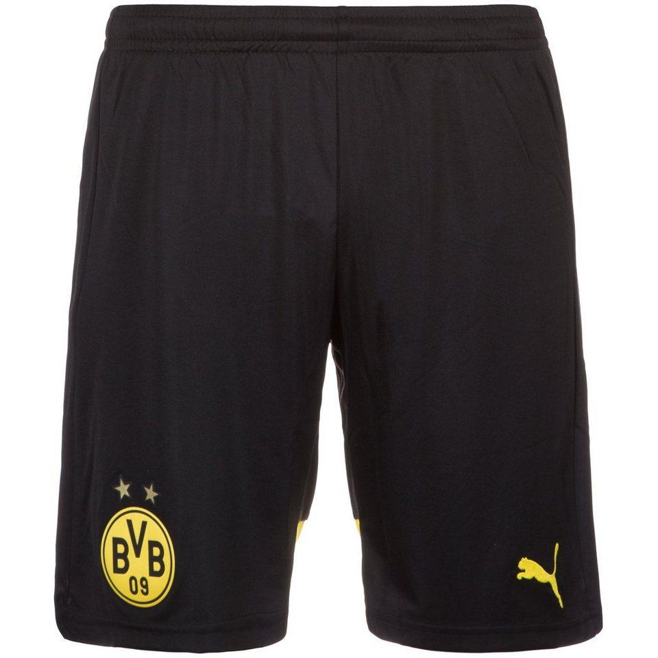 PUMA Borussia Dortmund Short Home 2015/2016 Herren in schwarz / gelb