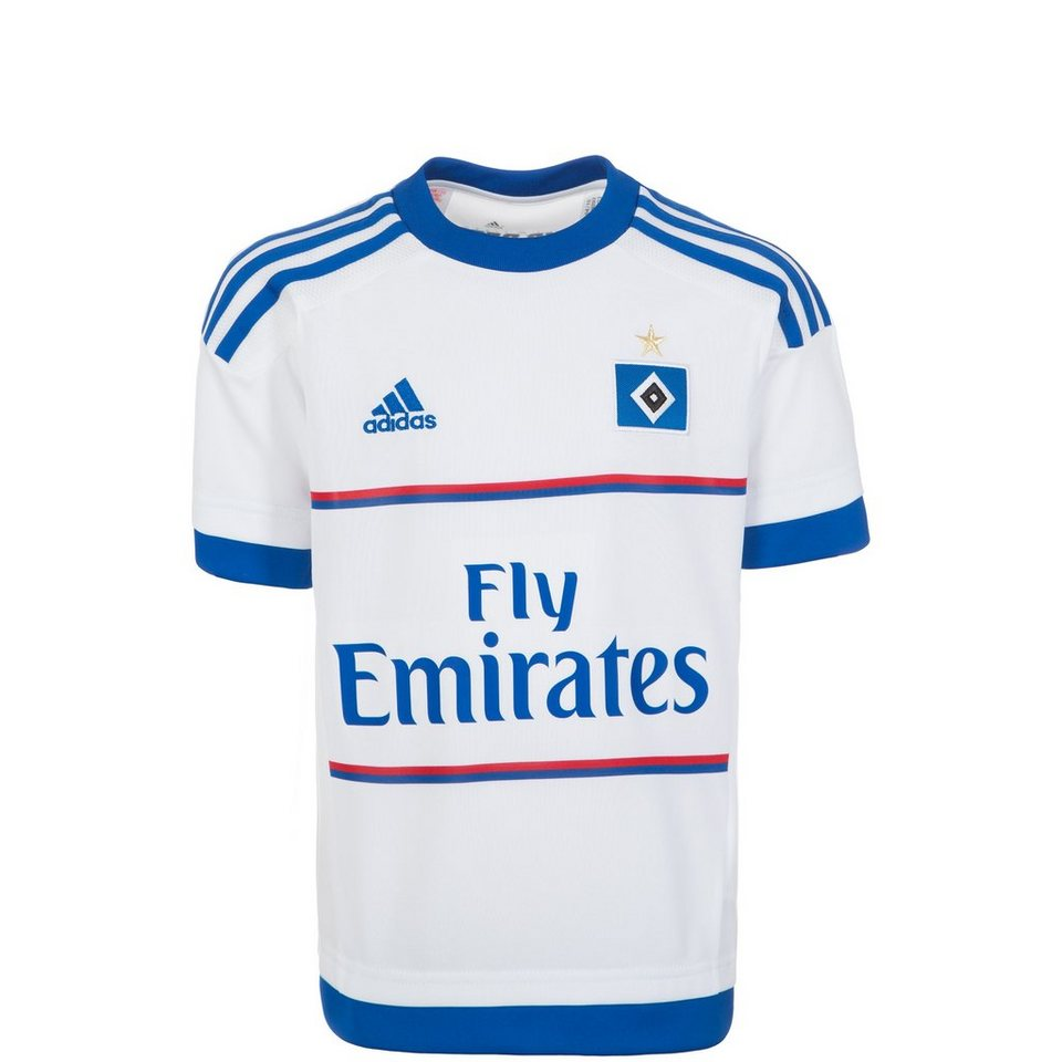 adidas Performance Hamburger SV Trikot Home 2015/2016 Kinder in weiß / blau