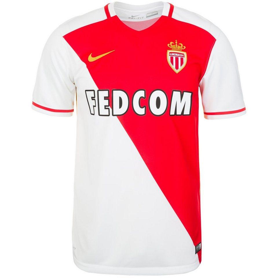 NIKE AS Monaco Trikot Home Stadium 2015/2016 Herren in weiß / rot