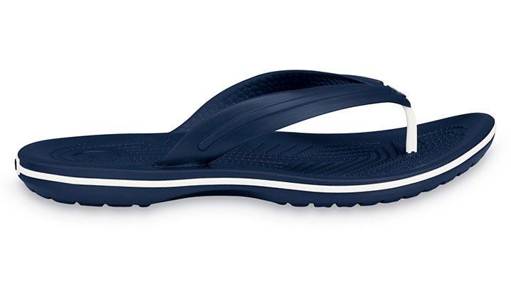 Crocs Sandale »Crocband Flip Sandals Unisex« in blau