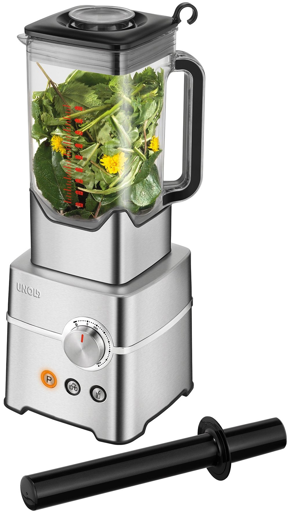 Zerkleinerer Power Smoothie-Maker, 2.000 Watt, stufenlos