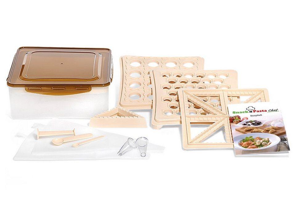 Genius® Pasta und Snack Chef, TV Werbung (15 tlg.) in braun