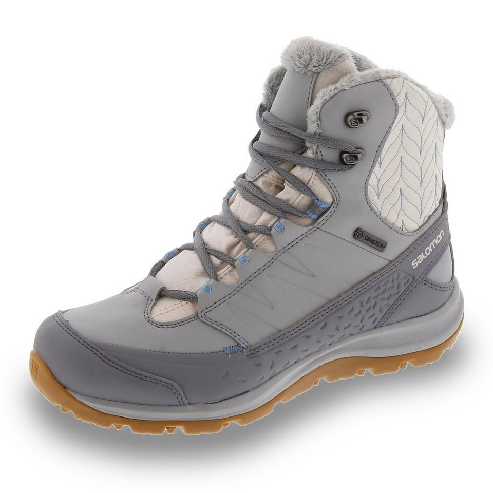 Salomon GORE-TEX Winterstiefel in offwhite