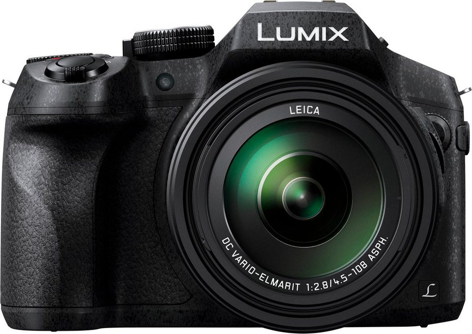 Lumix Panasonic DMC-FZ300EG-K Super Zoom Kamera, 12,1 Megapixel, 7,6 cm (3 Zoll) Display in schwarz