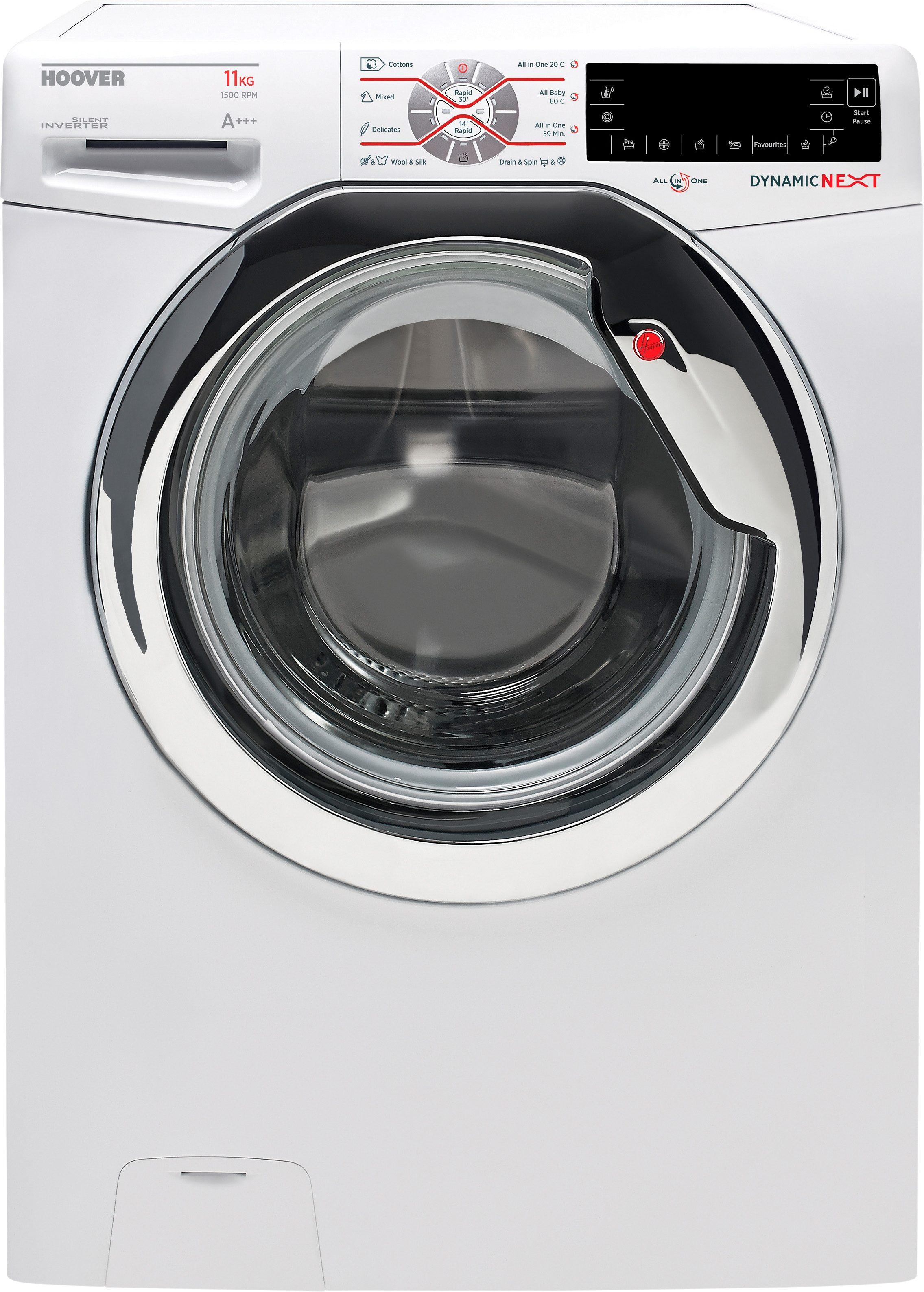 Hoover Waschmaschine DXT 511 AH, A+++, 11 kg, 1500 U/Min
