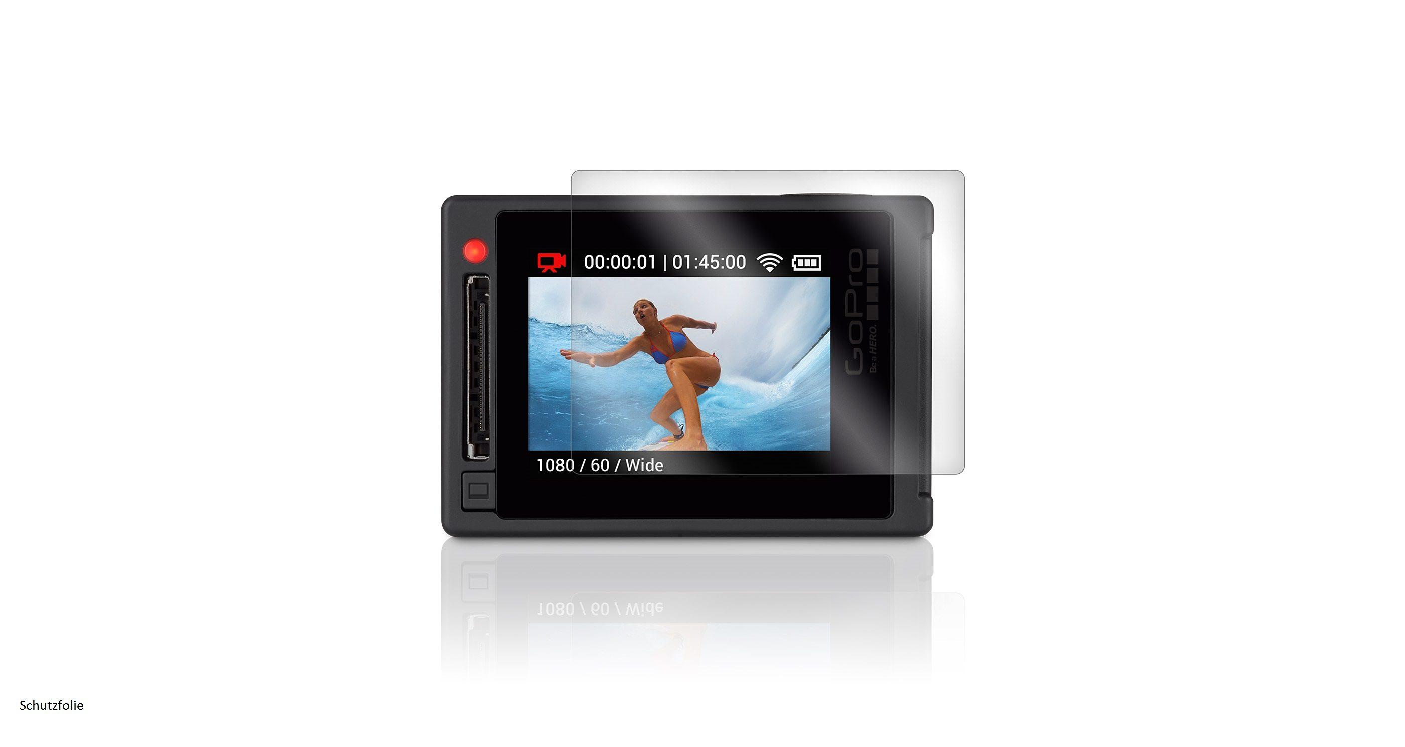 "GoPro Displayschutzfolie für HERO4 »""HERO4 Silver Screen Protector"" ABDSP-001«"
