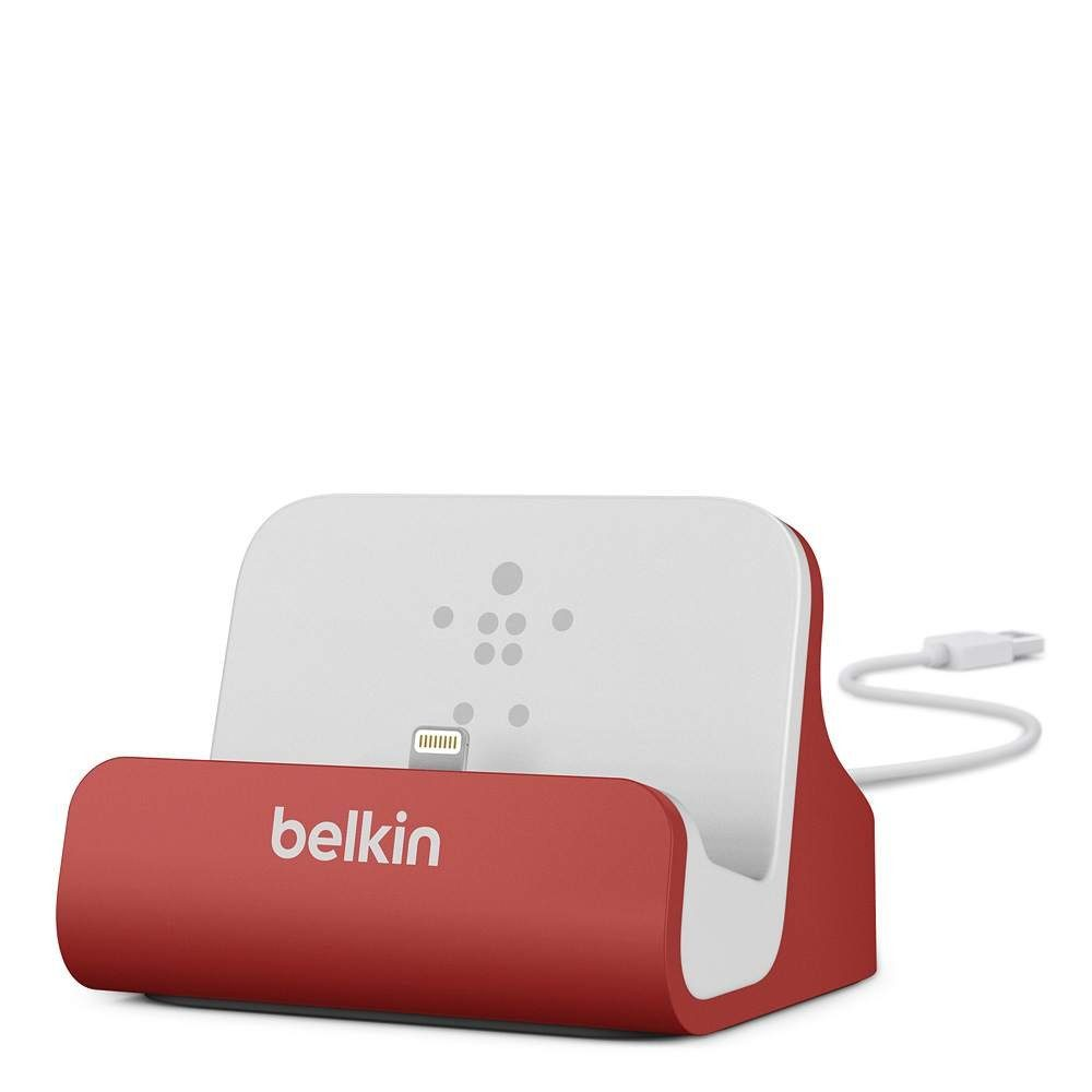 BELKIN Netzteil »Sync-/Lade-Dock für iPhone rot«