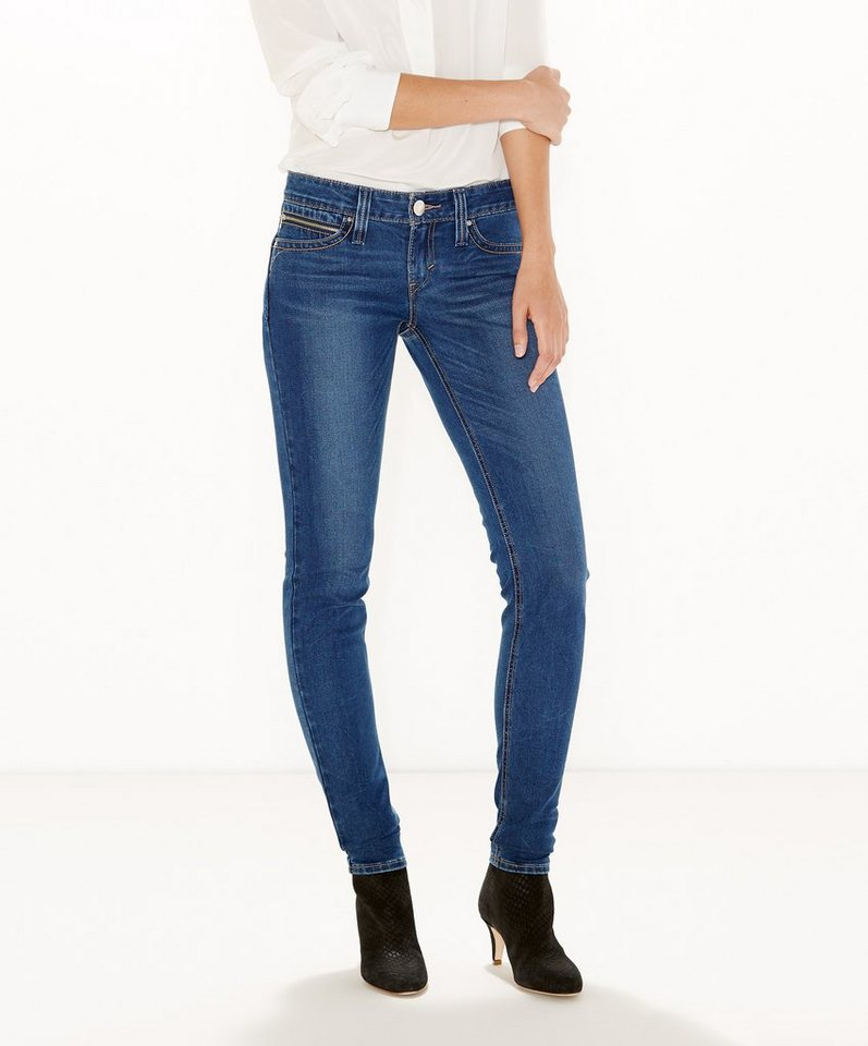 Levi's® Jeans »Low Revel Demi Curve Skinny Jeans« in Outlook