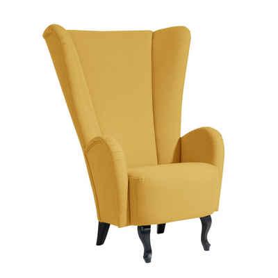 Sessel Senfgelb sessel in gelb kaufen otto