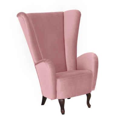 Ohrensessel In Rosa Pink Online Kaufen Otto