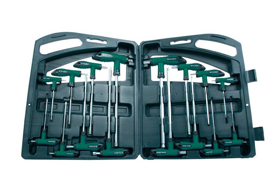 Set: Winkelschraubendreher, 16-tlg. in grün