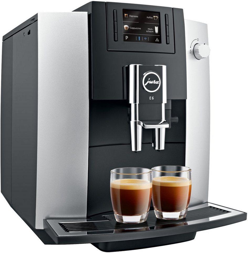 Jura Espresso-/Kaffee-Vollautomat 15058 E6 in piano black