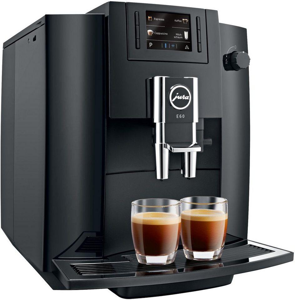Jura Espresso-/Kaffee-Vollautomat E60 in Piano Black