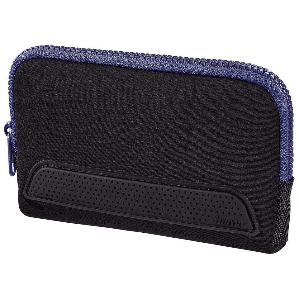 Hama Tasche Smart Sleeve für Nintendo New 3DSXL, Schwarz/Blau in Schwarz