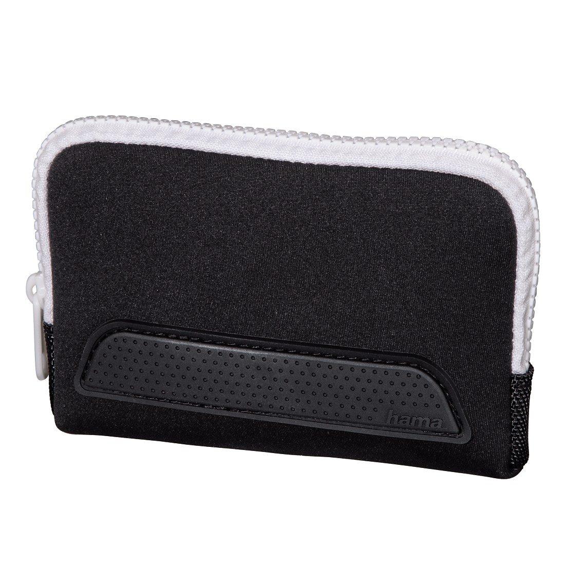 Hama Tasche Smart Sleeve für Nintendo New 3DS, Schwarz/Weiß