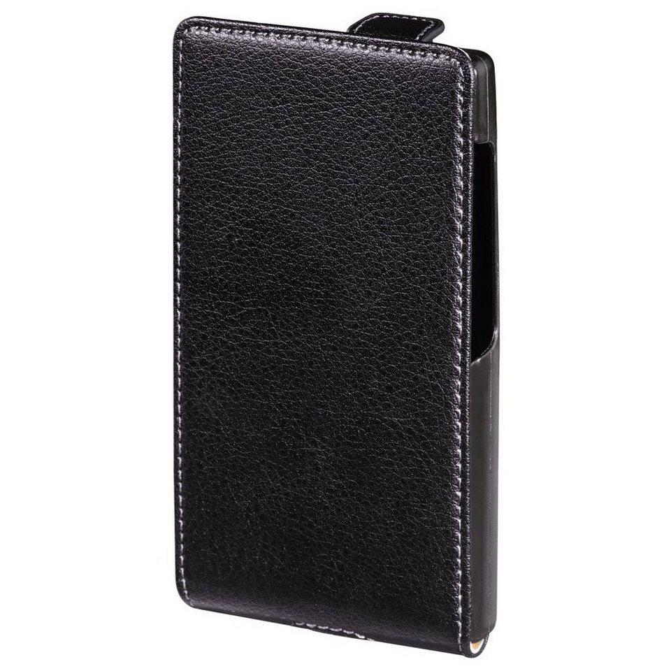 Hama Flap-Tasche Smart Case für Microsoft Lumia 532, Schwarz in Schwarz