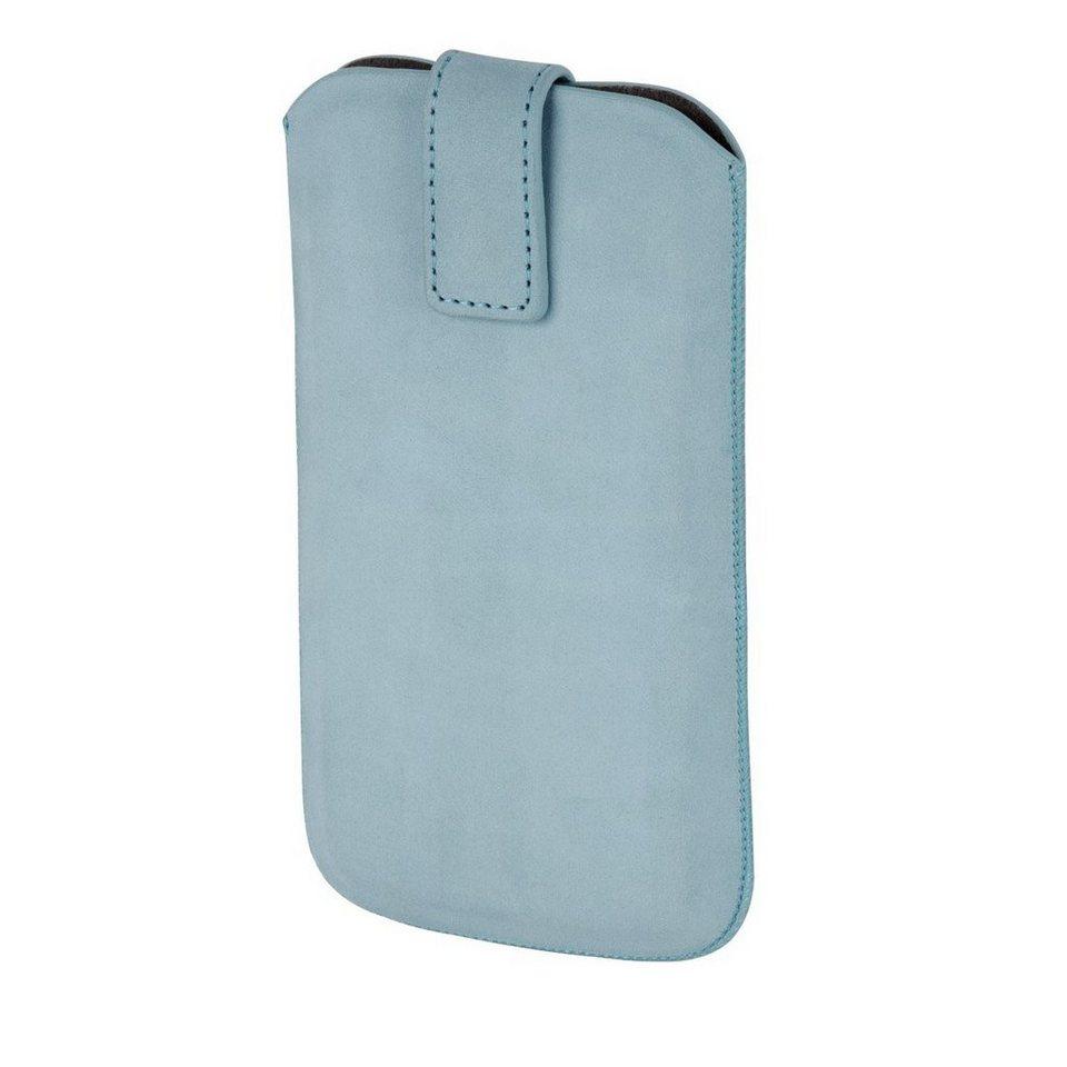 Hama Smartphone-Sleeve Chic Case, Gr. XXL, Mint in Blau