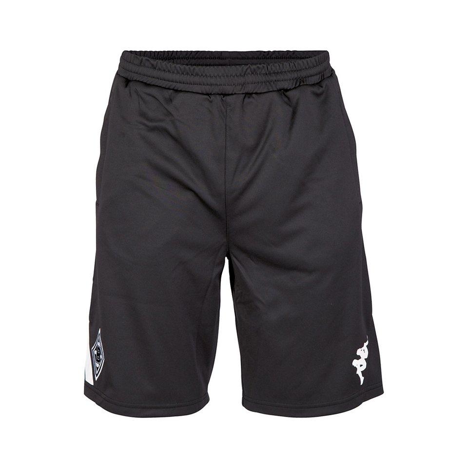 KAPPA Kinder Trainingsshorts »Borussia Mönchengladbach Trainingsshorts Kids « in black