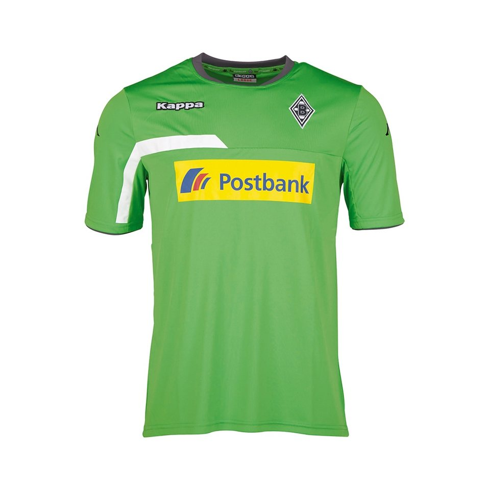 KAPPA Kinder Trainingsshirt »Borussia Mönchengladbach Trainingsshirt Kids 15-16« in classic green