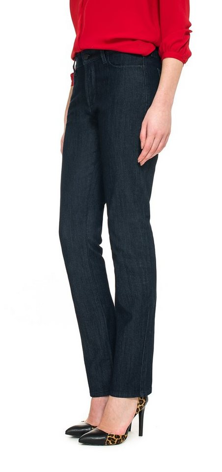 NYDJ Samantha Slim Jeans in Dark Enzyme