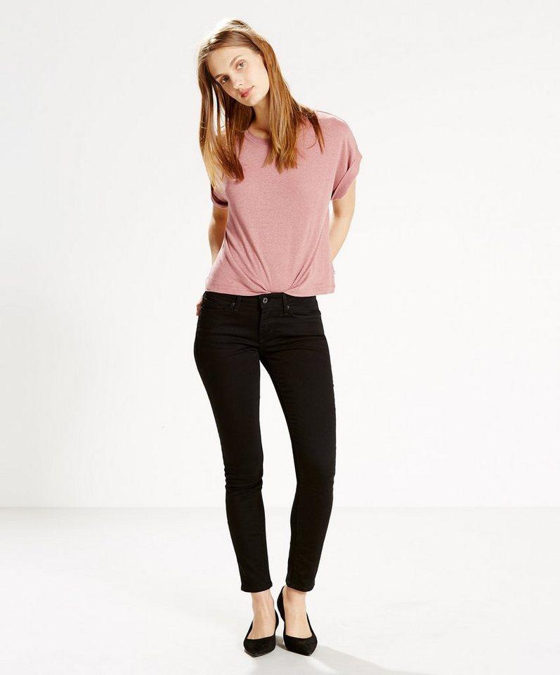 Levi's® Jeans »711 Skinny« in Black Sheep