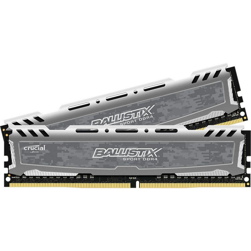 Crucial Arbeitsspeicher »DIMM 16GB DDR4-2400 Kit«