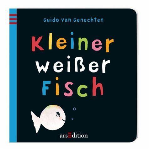 Buch mit Papp-Einband »Kleiner weißer Fisch«