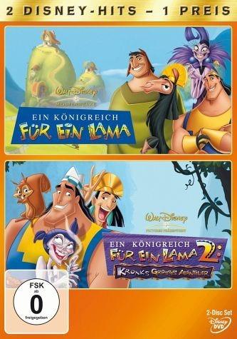 DVD »Ein Königreich für ein Lama / Ein Königreich...«