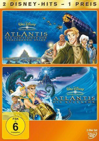 DVD »Atlantis - Das Geheimnis der verlorenen Stadt...«