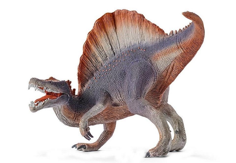 Schleich® Spielfigur (14542), »World of History, Urzeittiere - Spinosaurus, violett«