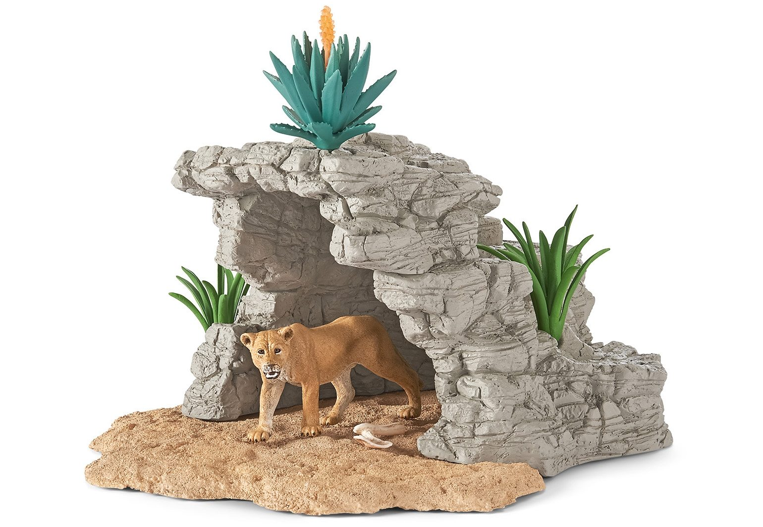 Schleich® Spielset (42256), »World of Nature, Wild Life - Höhle«