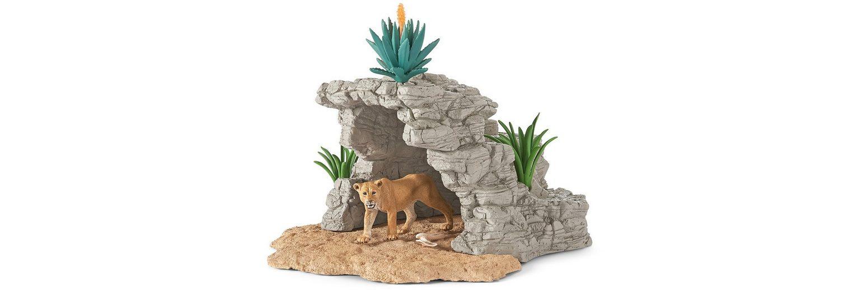 Schleich® Spielset (42256), »World of Nature, Wild Life - Höhle«