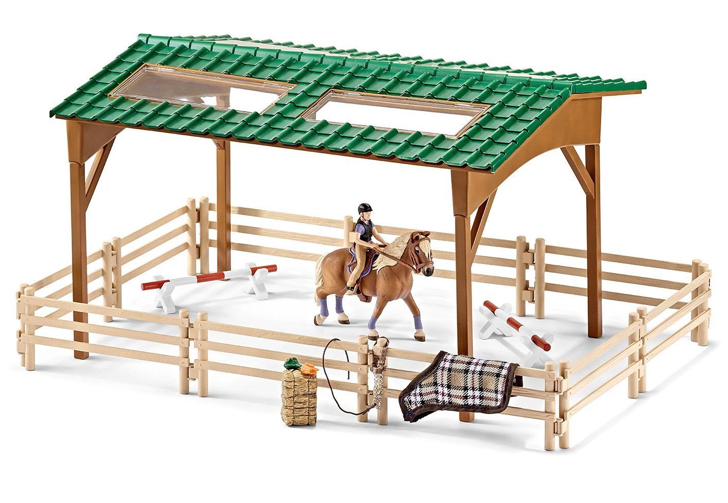 Schleich® Spielset (42189), »Horse Club - Reitplatz«