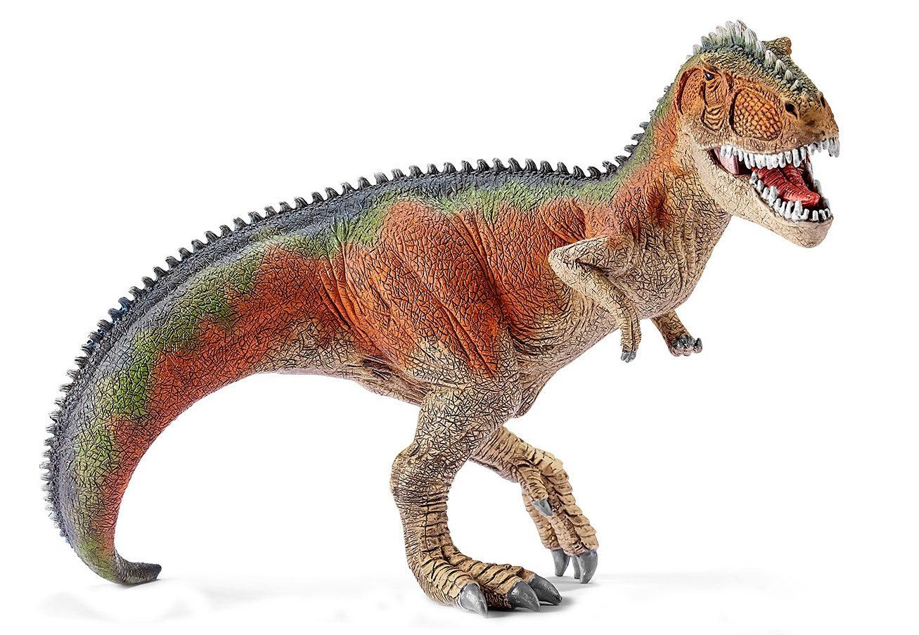 Schleich® Spielfigur (14543), »World of History, Urzeittiere - Giganotosaurus, orange«
