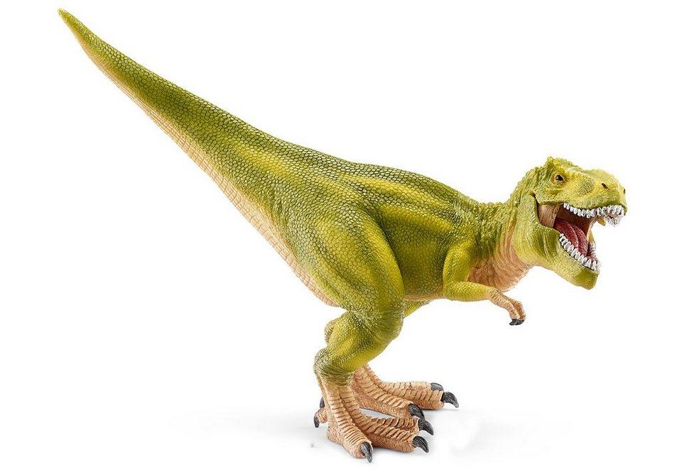 Schleich® Spielfigur (14528), »World of History, Urzeittiere - Tyrannosaurus Rex, hellgrün«