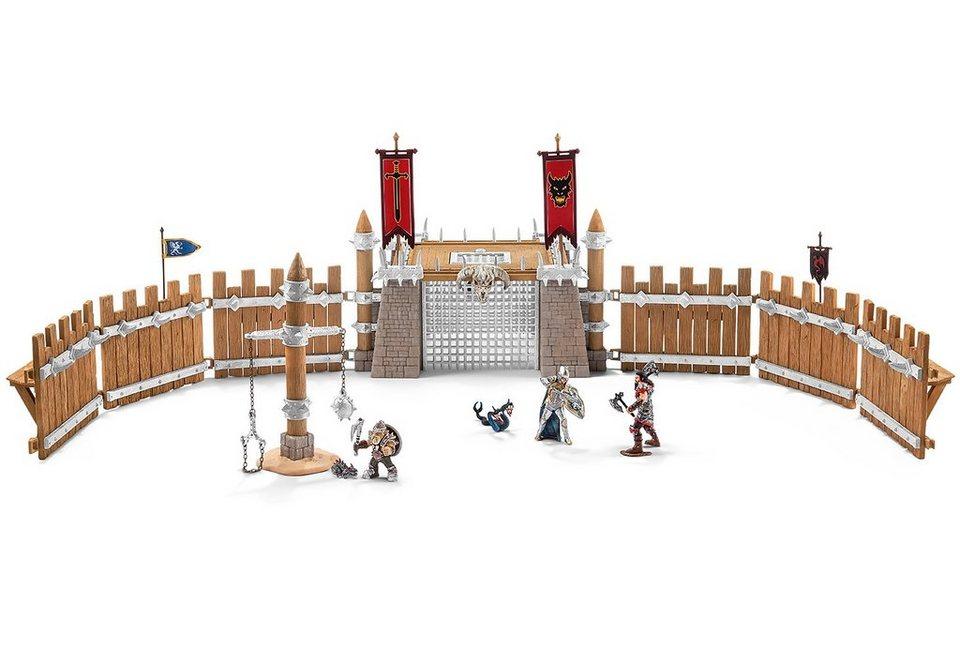 Schleich® Spielset (42273), »Eldrador, Kampfarena mit Zubehör«