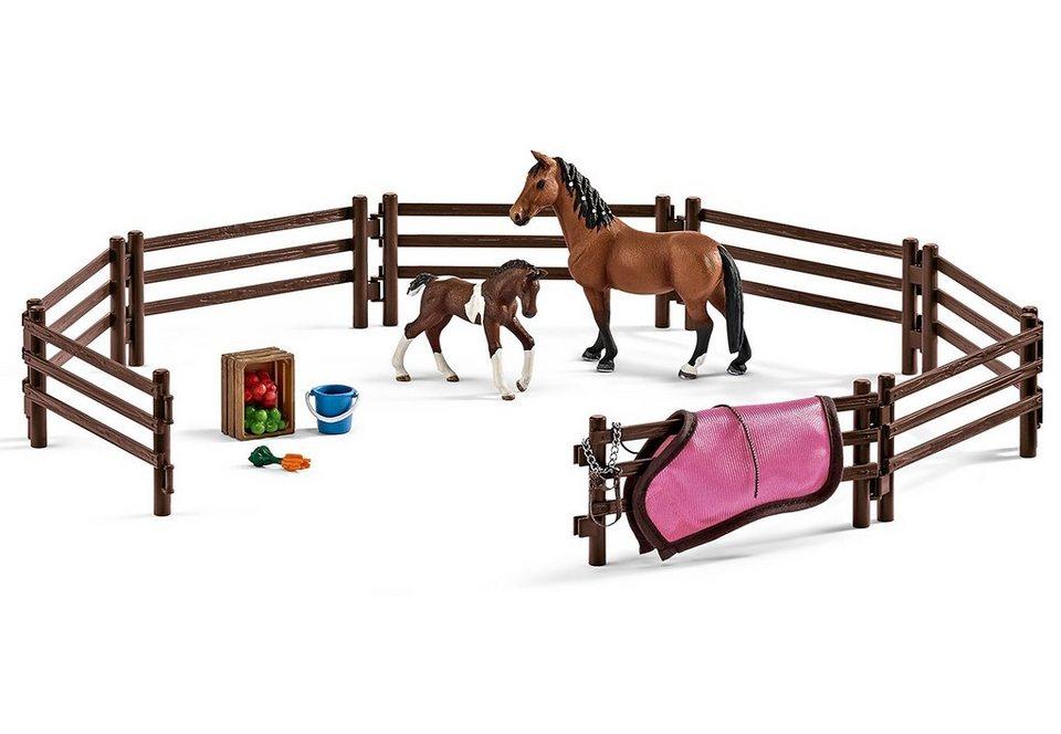 Schleich® Spielset (42192), »Horse Club - Koppel«