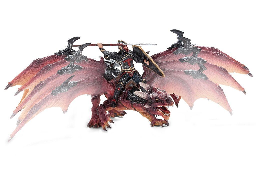 Schleich® Spielfigur (70100), »Eldrador, Drachenreiter Portok«