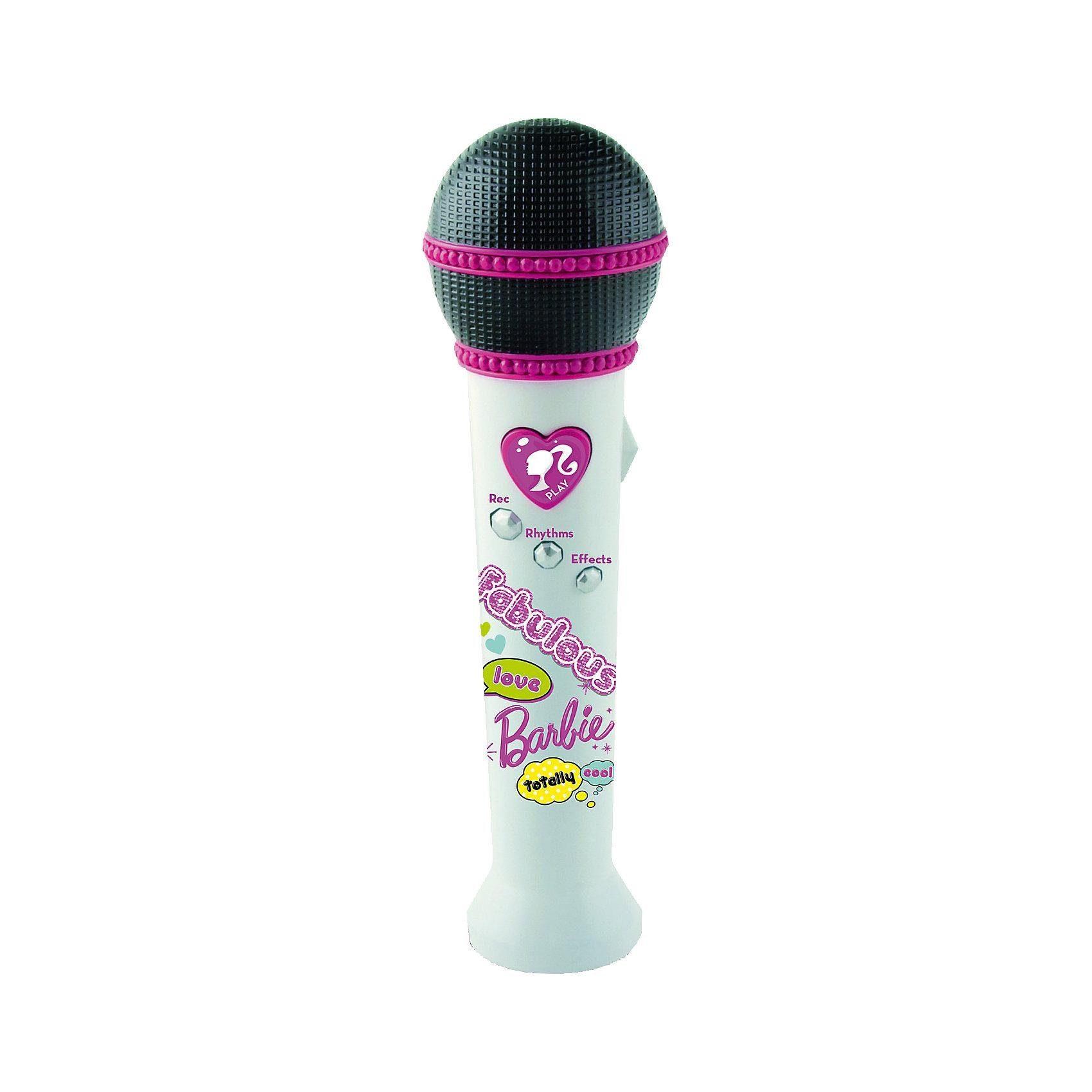 IMC Toys Barbie Mikrofon mit Aufnahmefunktion